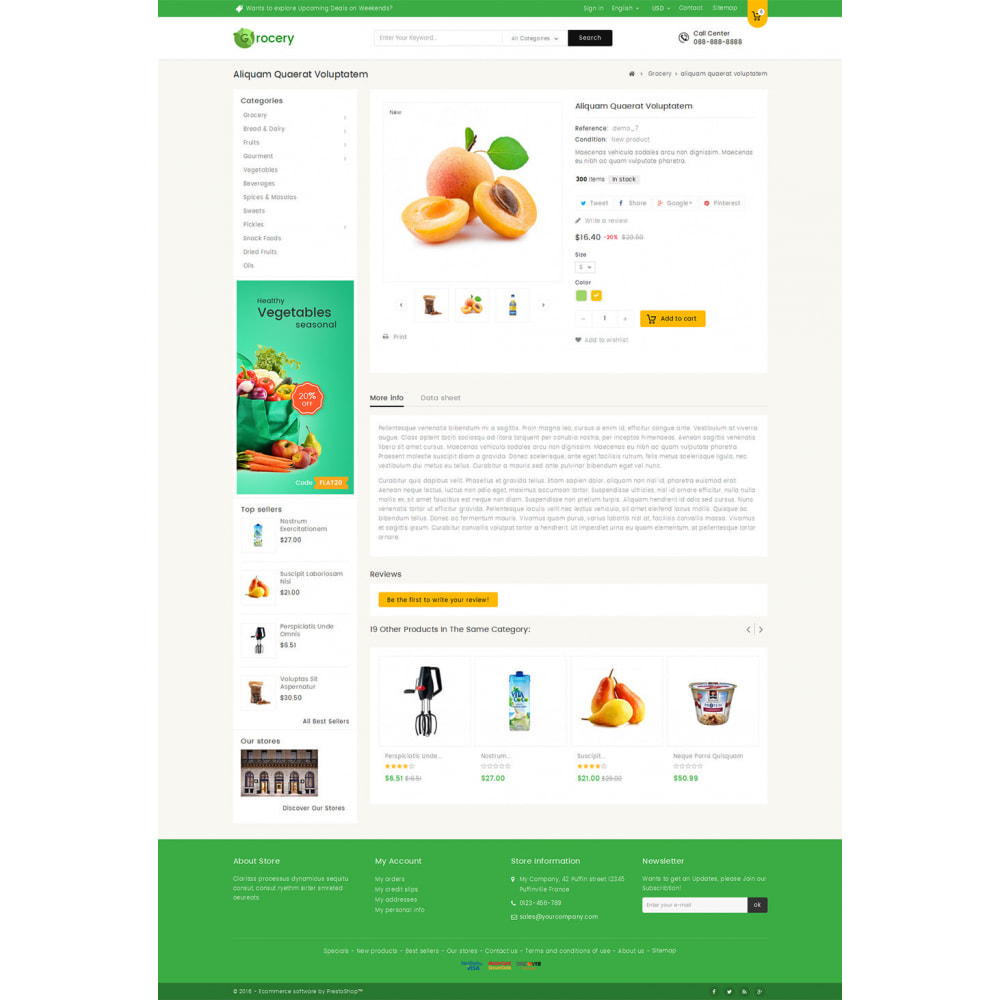 theme - Lebensmittel & Restaurants - Mega Grocery Store - 5
