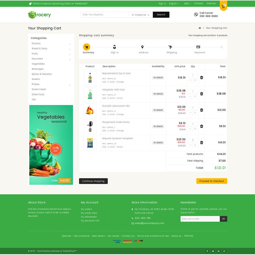 theme - Lebensmittel & Restaurants - Mega Grocery Store - 6
