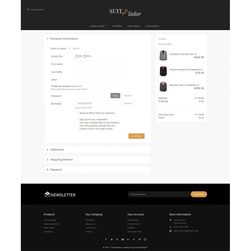 theme - Мода и обувь - Suit/Tailor Store - 7