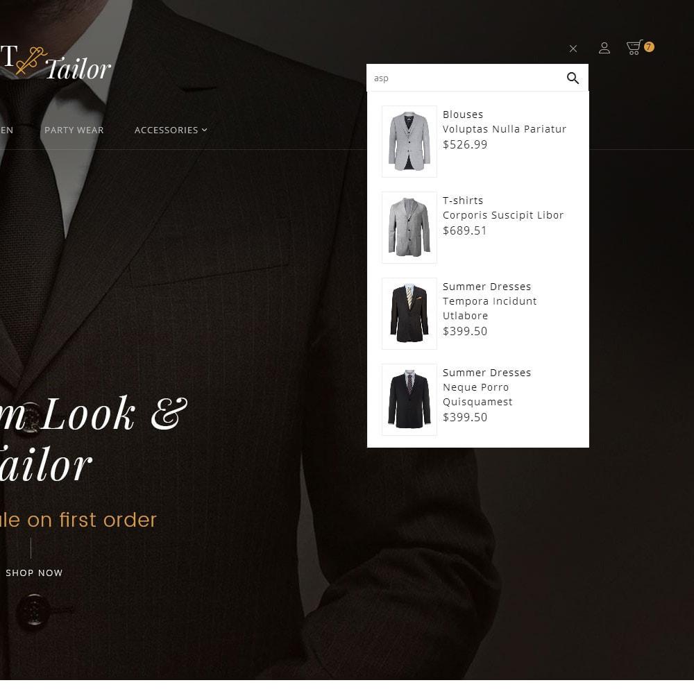 theme - Мода и обувь - Suit/Tailor Store - 10