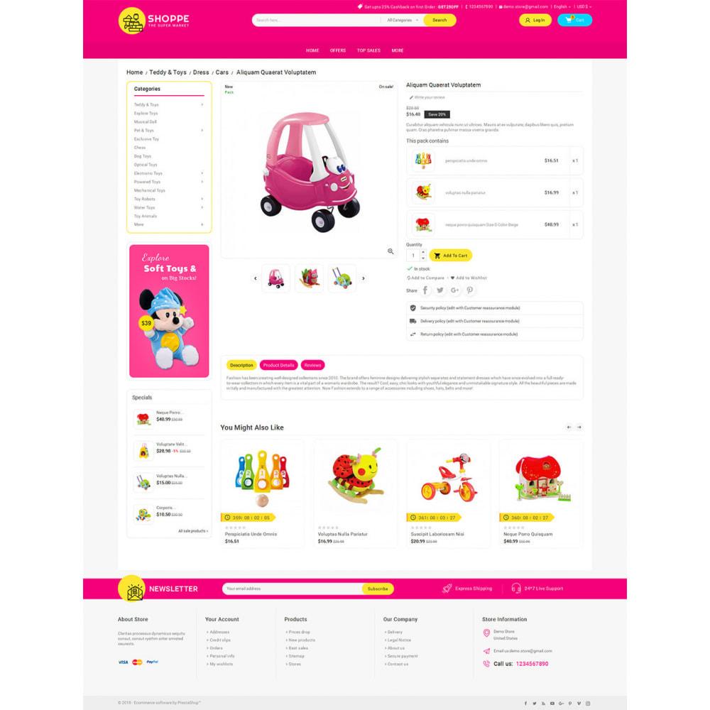 theme - Niños y Juguetes - Mega Shoppe Kid Toys - 5