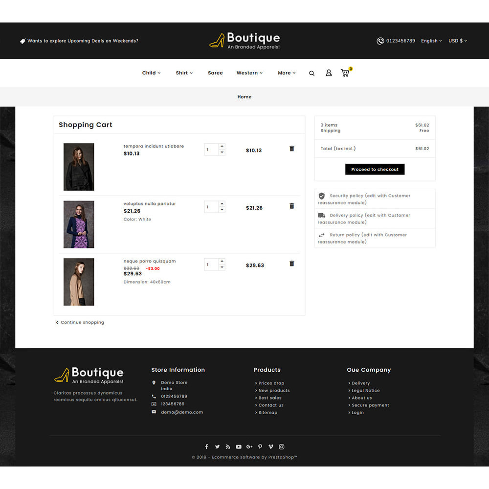 theme - Fashion & Shoes - Boutique Fashion Apparels - 6