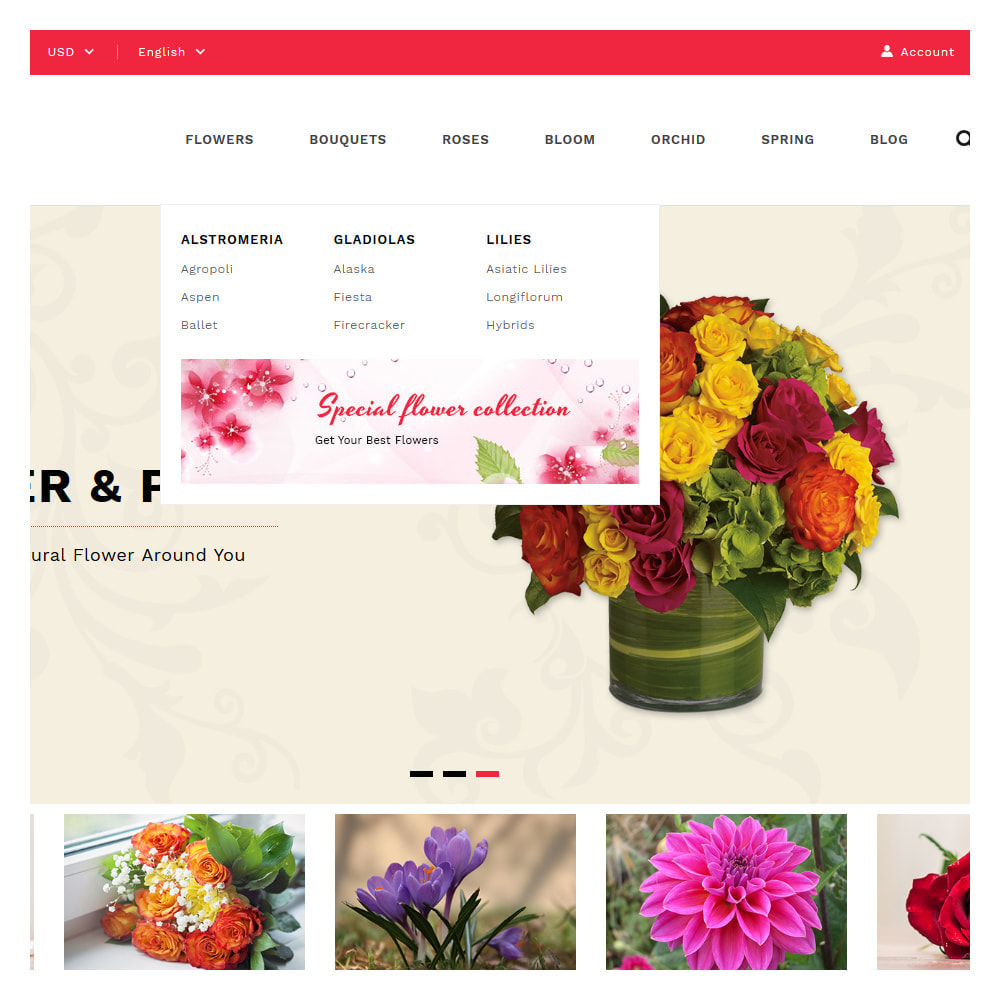 theme - Gifts, Flowers & Celebrations - Florist Flowers & Gifts Store - 8