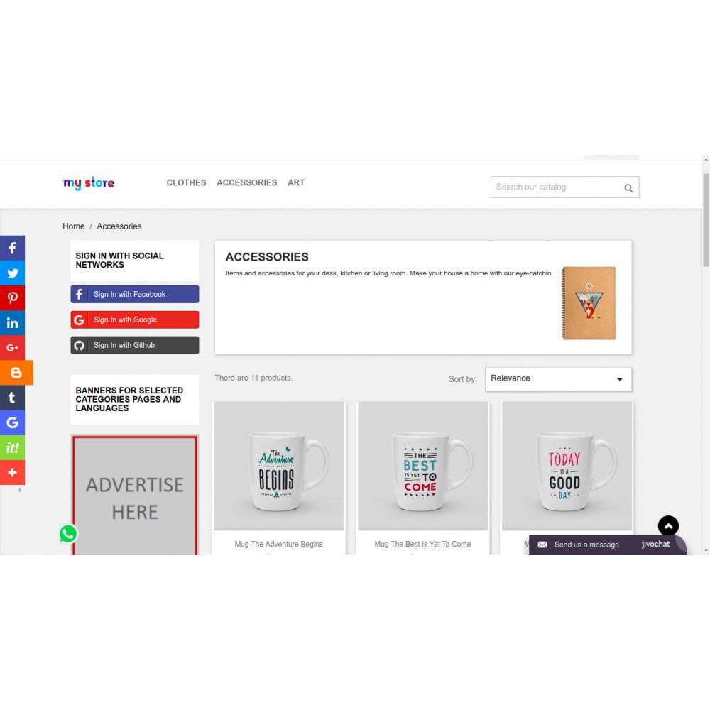 module - Compartir contenidos y Comentarios - AddThis Integration - Compartir contenido social - 2