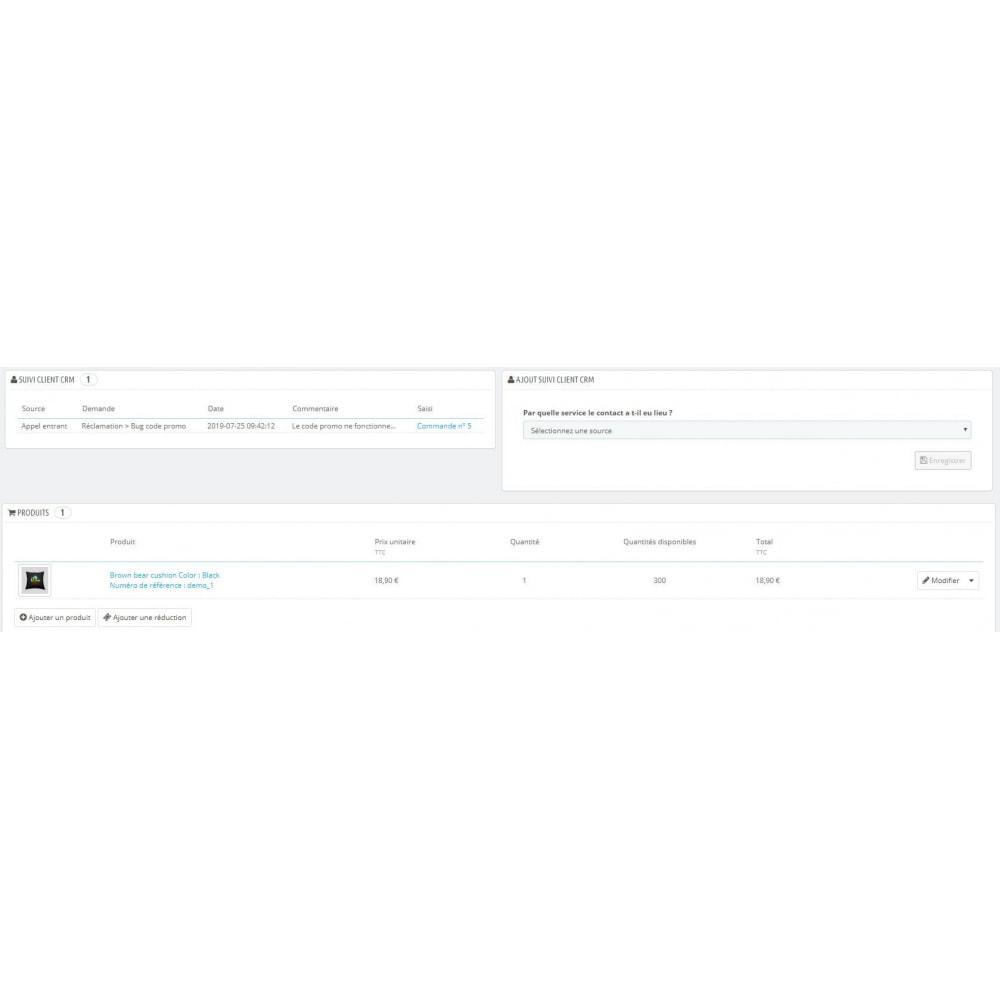 module - Connexion à un logiciel tiers (CRM, ERP...) - CRM client - 3