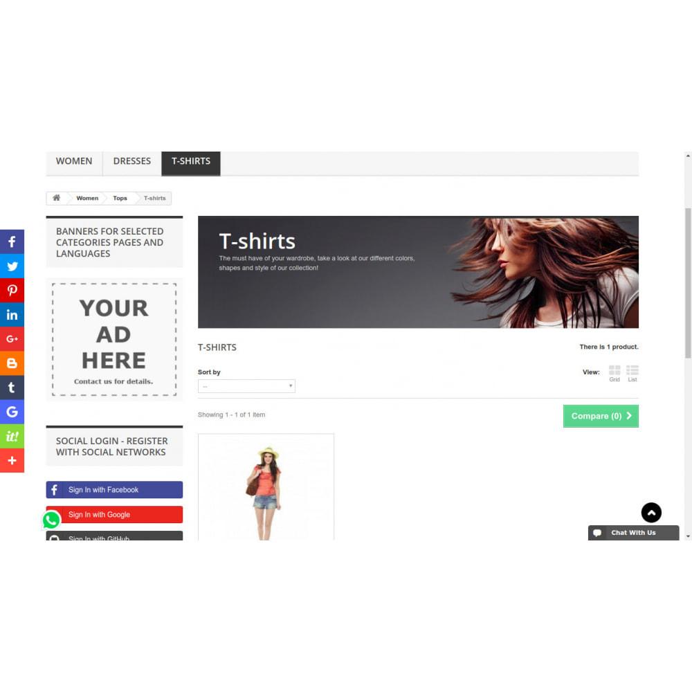module - Blocks, Reiter & Banner - Kundenspezifische rotierende Banner in Intervallen - 5
