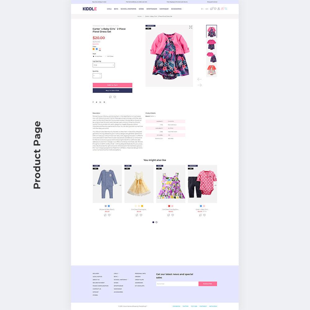 theme - Fashion & Shoes - Kiddle - Children Clothes Store - 5