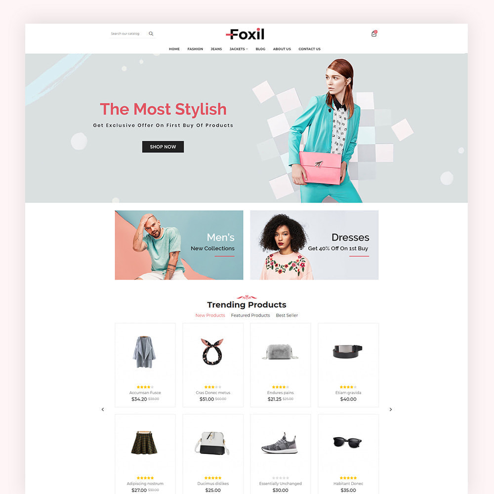 theme - Fashion & Shoes - Foxil Fashion Store - 2