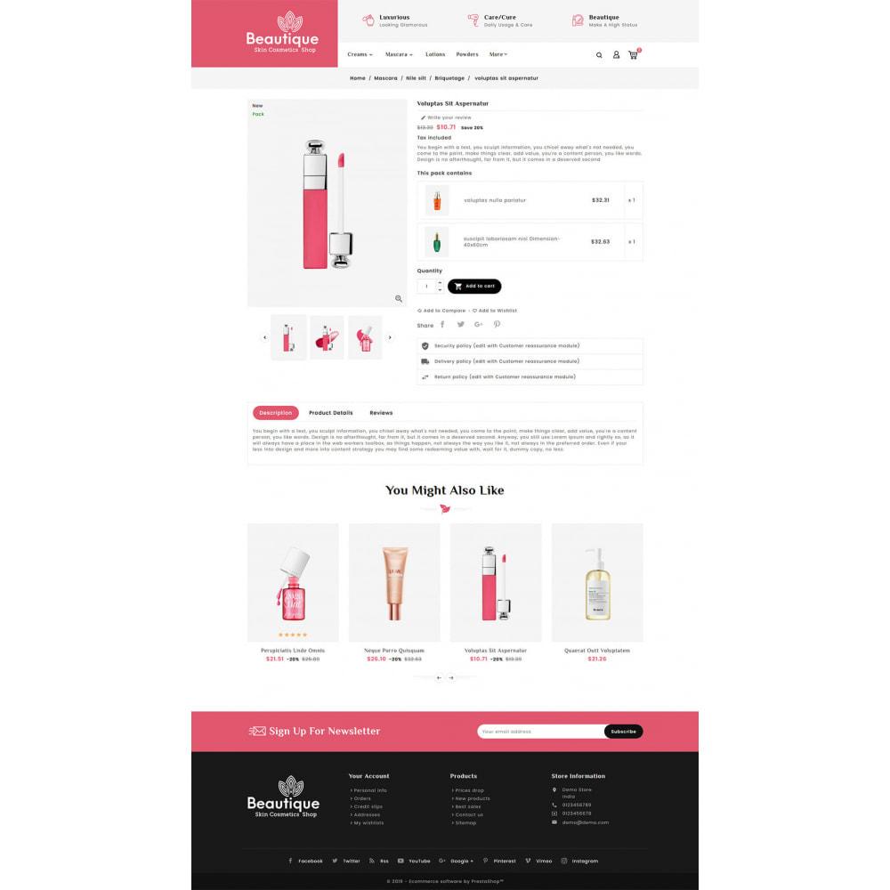 theme - Saúde & Beleza - Beautique Skin Cosmetics - 5