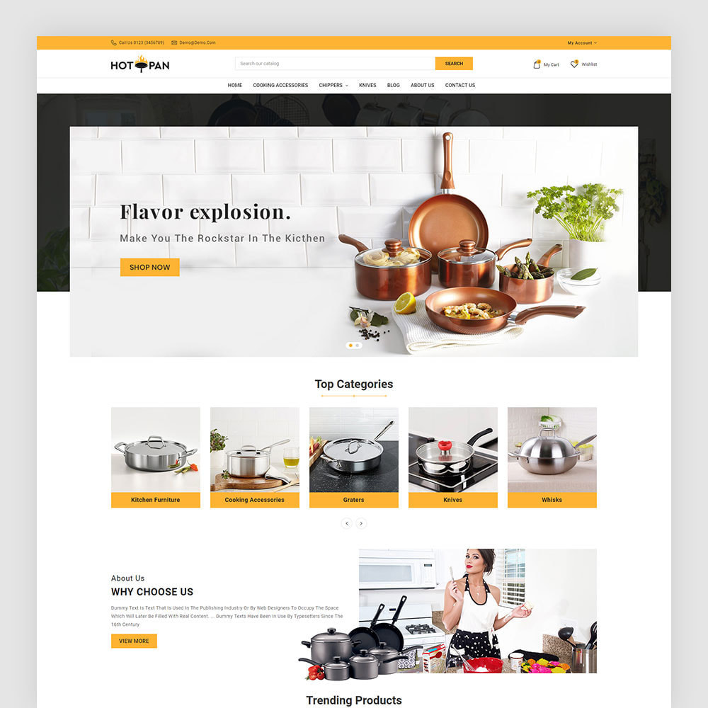 theme - Home & Garden - Hotpan Kitchen Store - 2