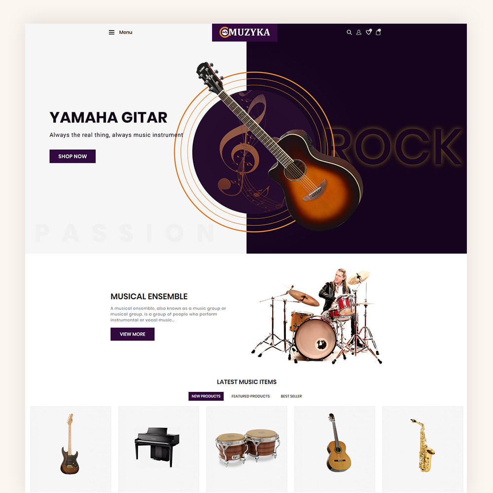 theme - Art & Culture - Muzyka Mugic Instruments Store - 2