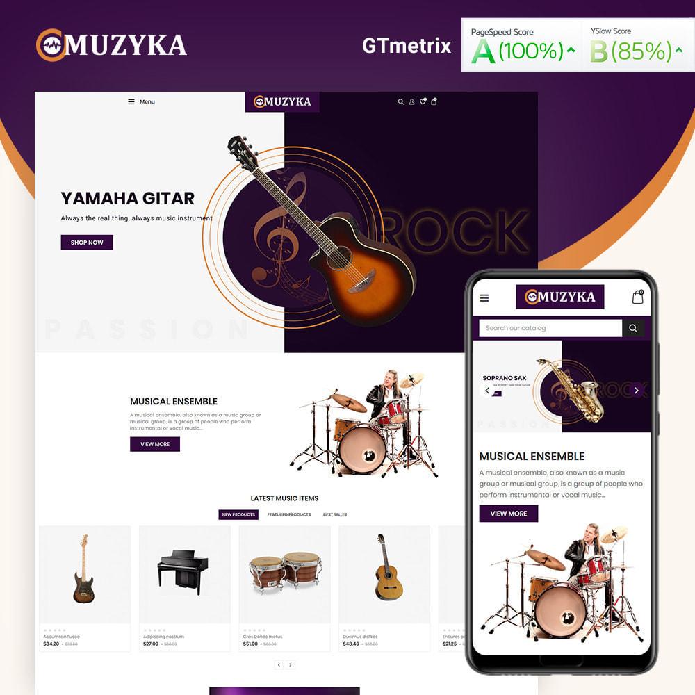 theme - Art & Culture - Muzyka Mugic Instruments Store - 2