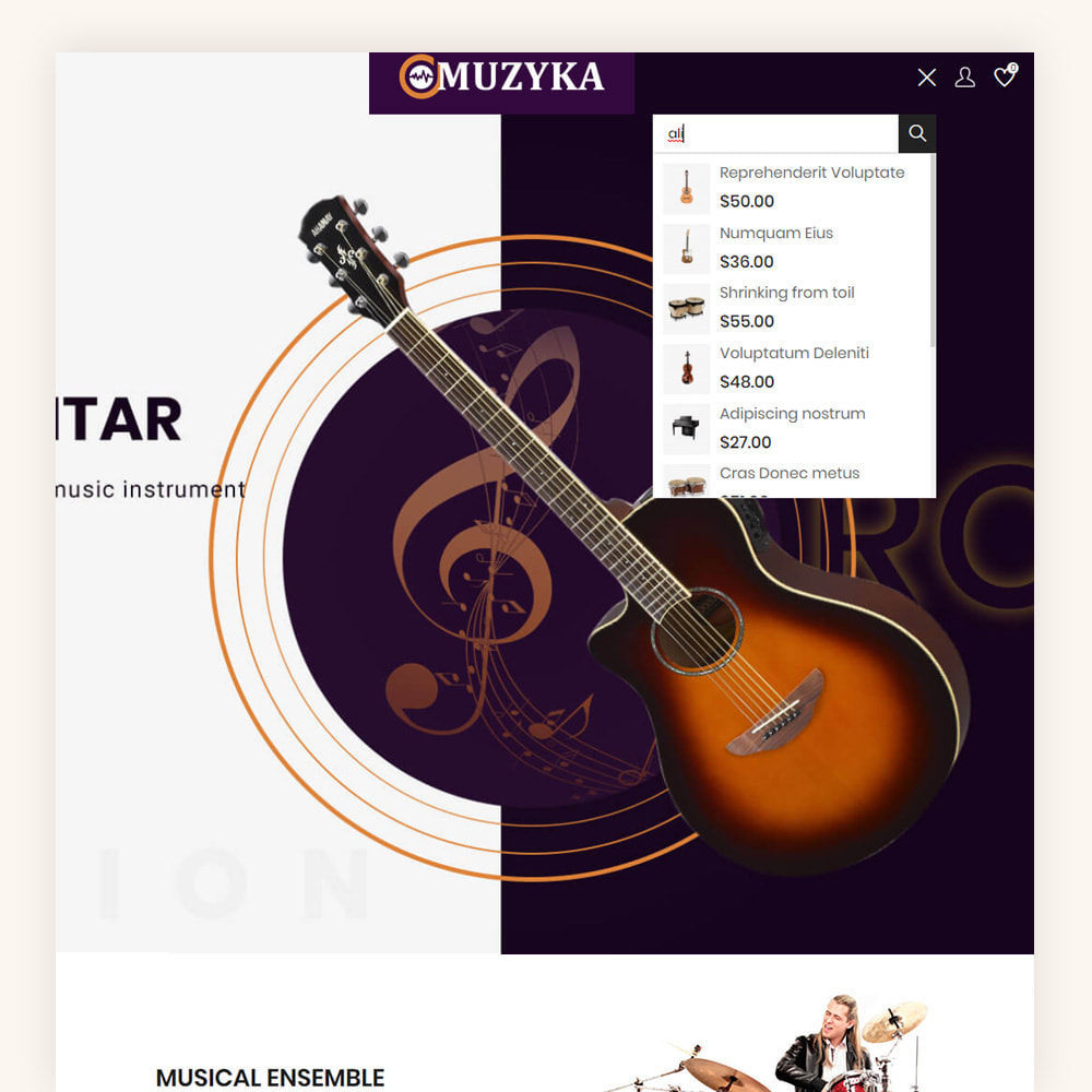 theme - Art & Culture - Muzyka Mugic Instruments Store - 4