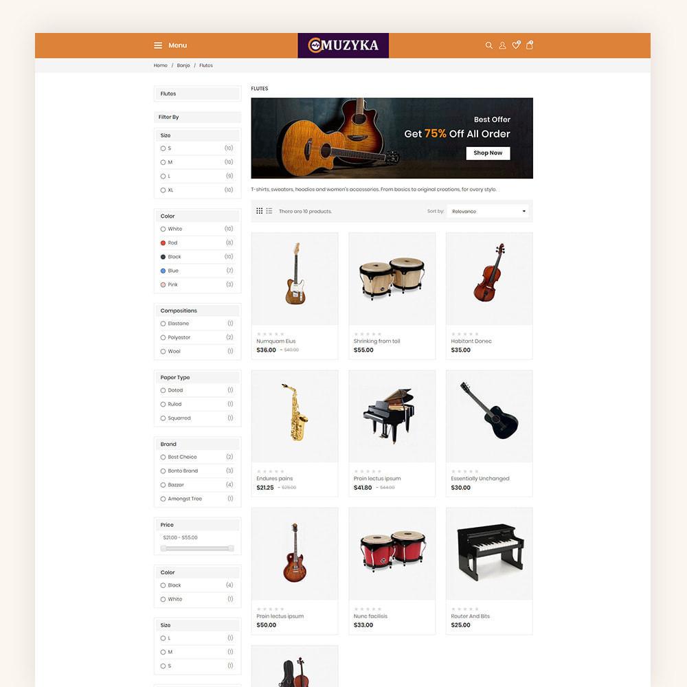 theme - Art & Culture - Muzyka Mugic Instruments Store - 6