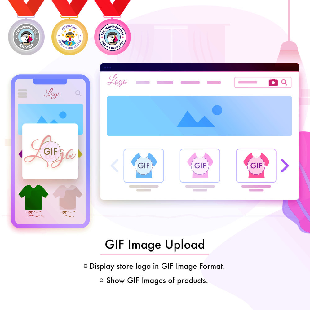 module - Visual Products - GIF Image Upload - 1