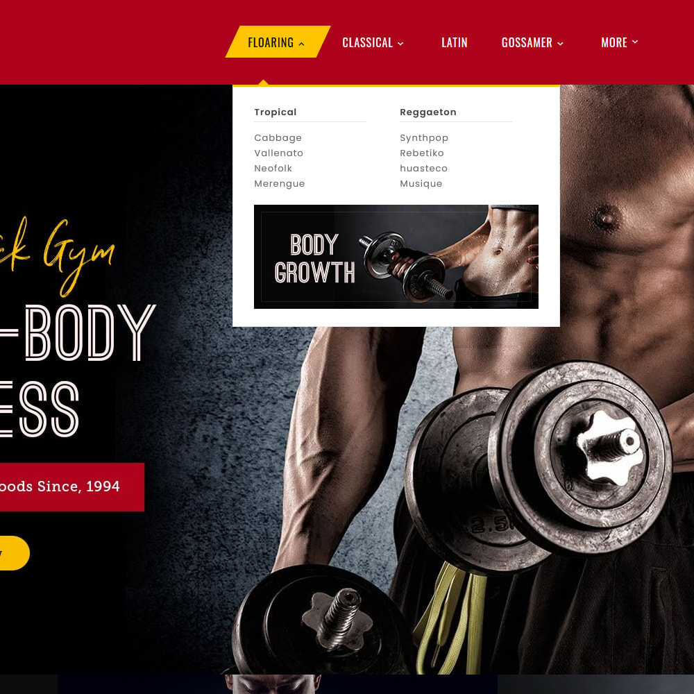 theme - Sport, Aktivitäten & Reise - Gym Power - Body Fitness - 9