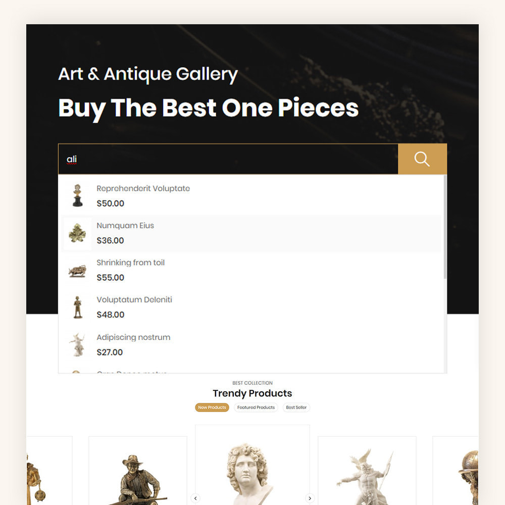 theme - Art & Culture - Antiquely art store - 3