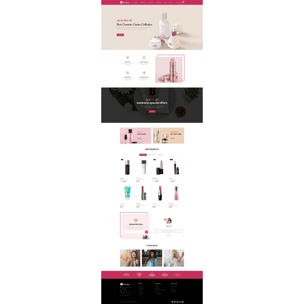 theme - Health & Beauty - Frivolous - Cosmetic Store - 2