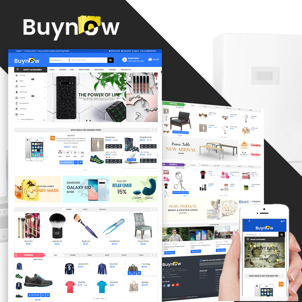 theme - Electronics & Computers - Buy Now Market - 1