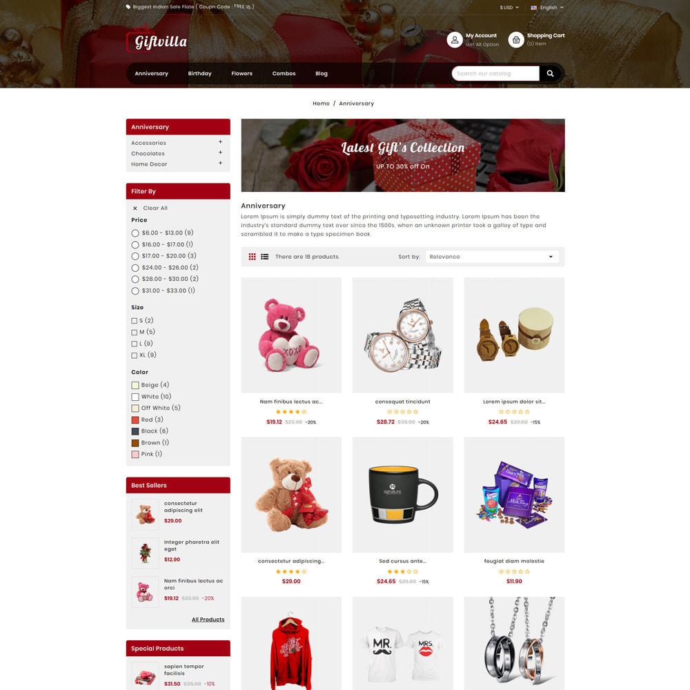 theme - Prezenty, Kwiaty & Uroczystości - Giftvilla Gift Shop - 3