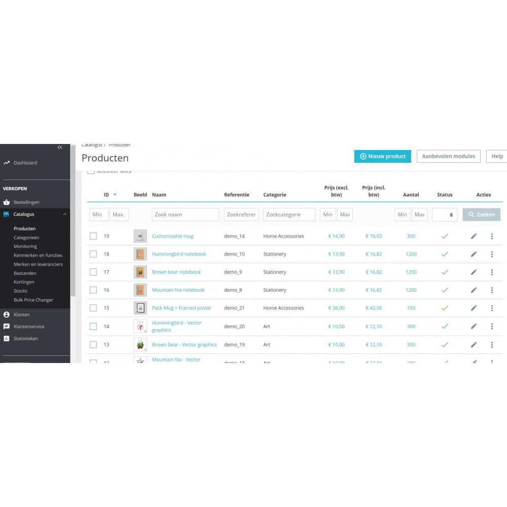 module - Prijsbeheer - Bulk Prijswijziging Module - 3