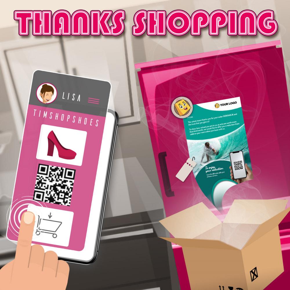 module - Fidélisation & Parrainage - Thanks shopping. Un merci qui rapporte beaucoup $$$! - 1