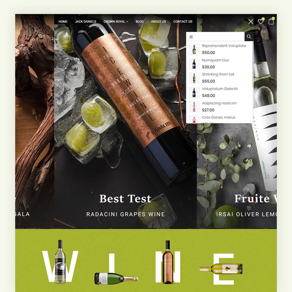theme - Drink & Tobacco - Winery Wine Store - 3
