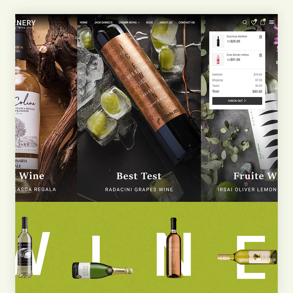 theme - Boissons & Tabac - Winery Wine Store - 5