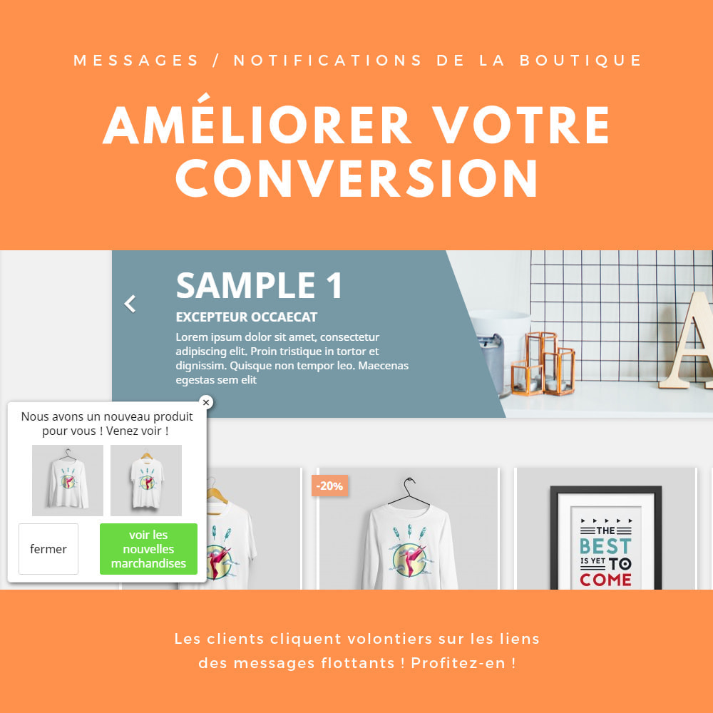 module - E-mails & Notifications - Messages / notifications de la boutique - 1