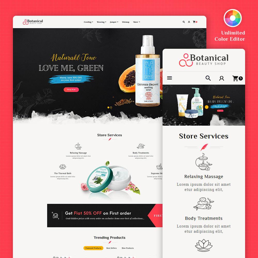 theme - Health & Beauty - Botanical - Beauty Spa Shop - 1