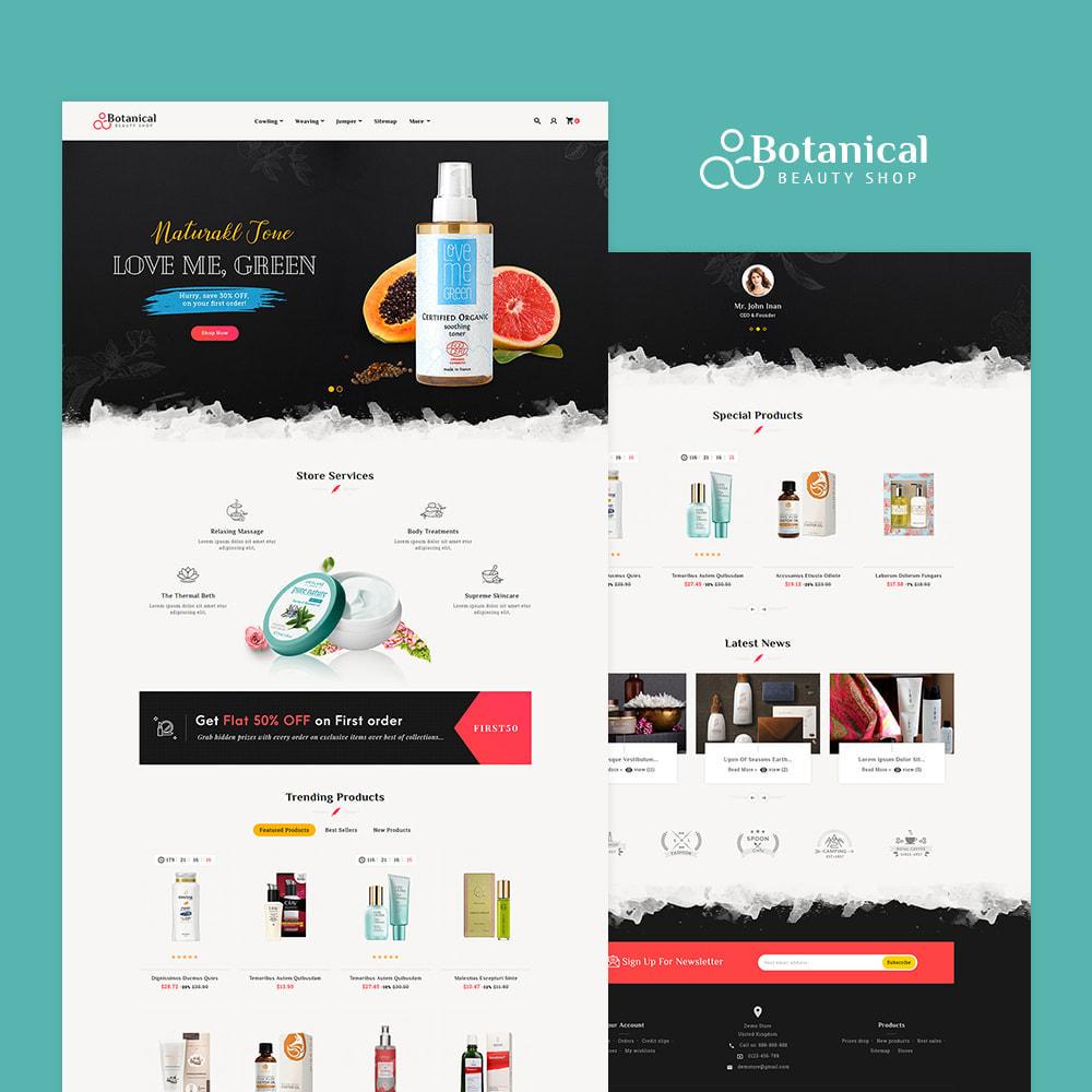 theme - Health & Beauty - Botanical - Beauty Spa Shop - 2