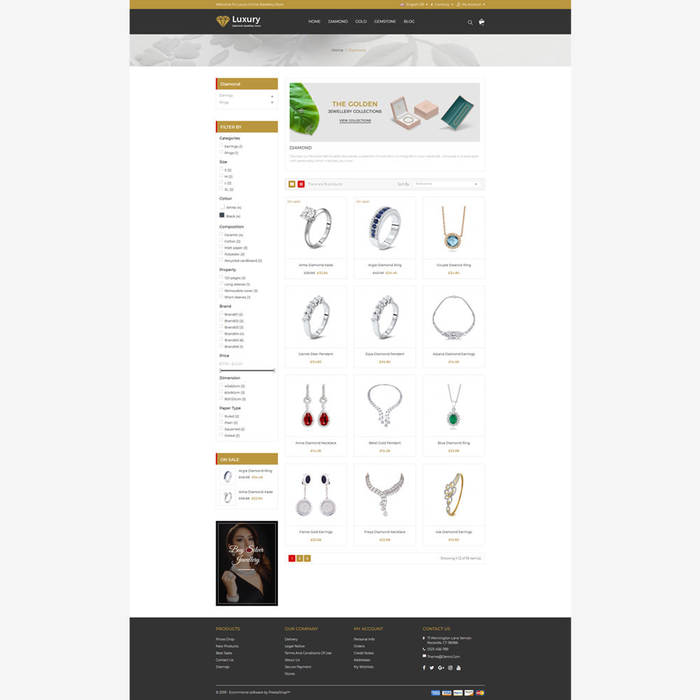 theme - Jewelry & Accessories - Jewellery -  Responsive Store - 3