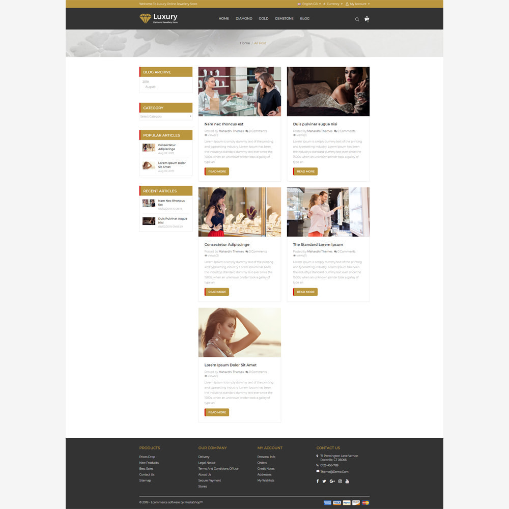 theme - Jewelry & Accessories - Jewellery -  Responsive Store - 5