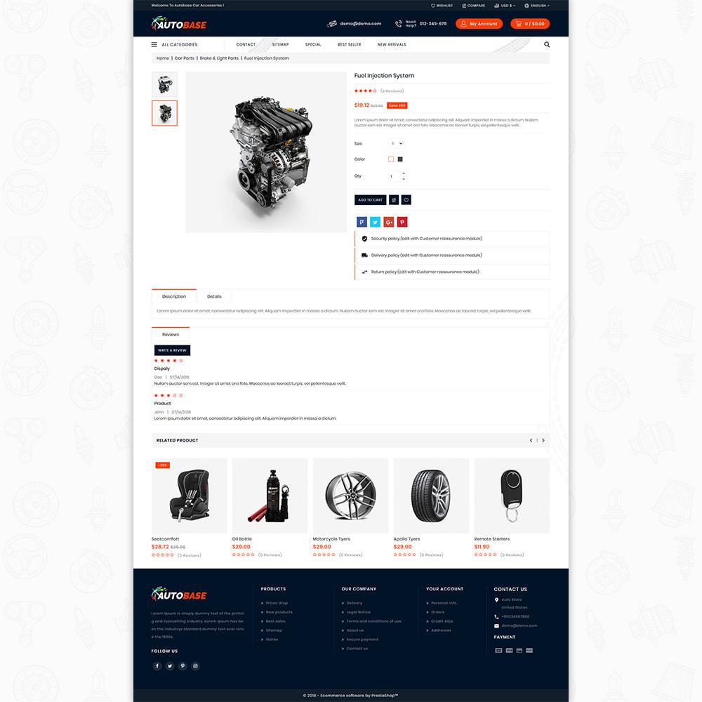 theme - Auto's & Motoren - Autobase - Auto Parts & Tools - 6