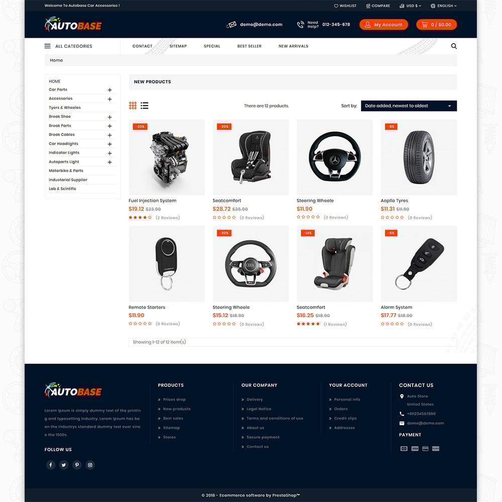 theme - Auto's & Motoren - Autobase - Auto Parts & Tools - 7