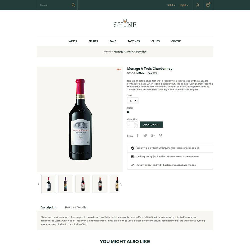 theme - Drink & Tobacco - Shine Wine - Alcohol Store - 5
