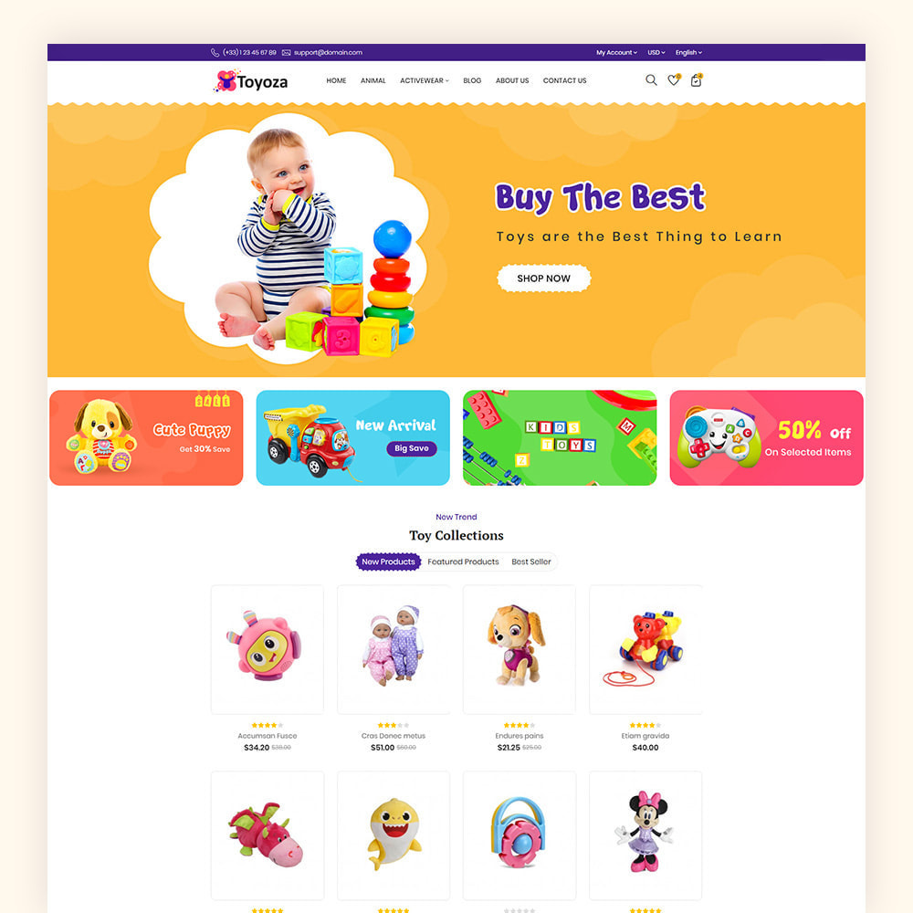 theme - Kinderen & Speelgoed - Toyoza Toy Store - 2