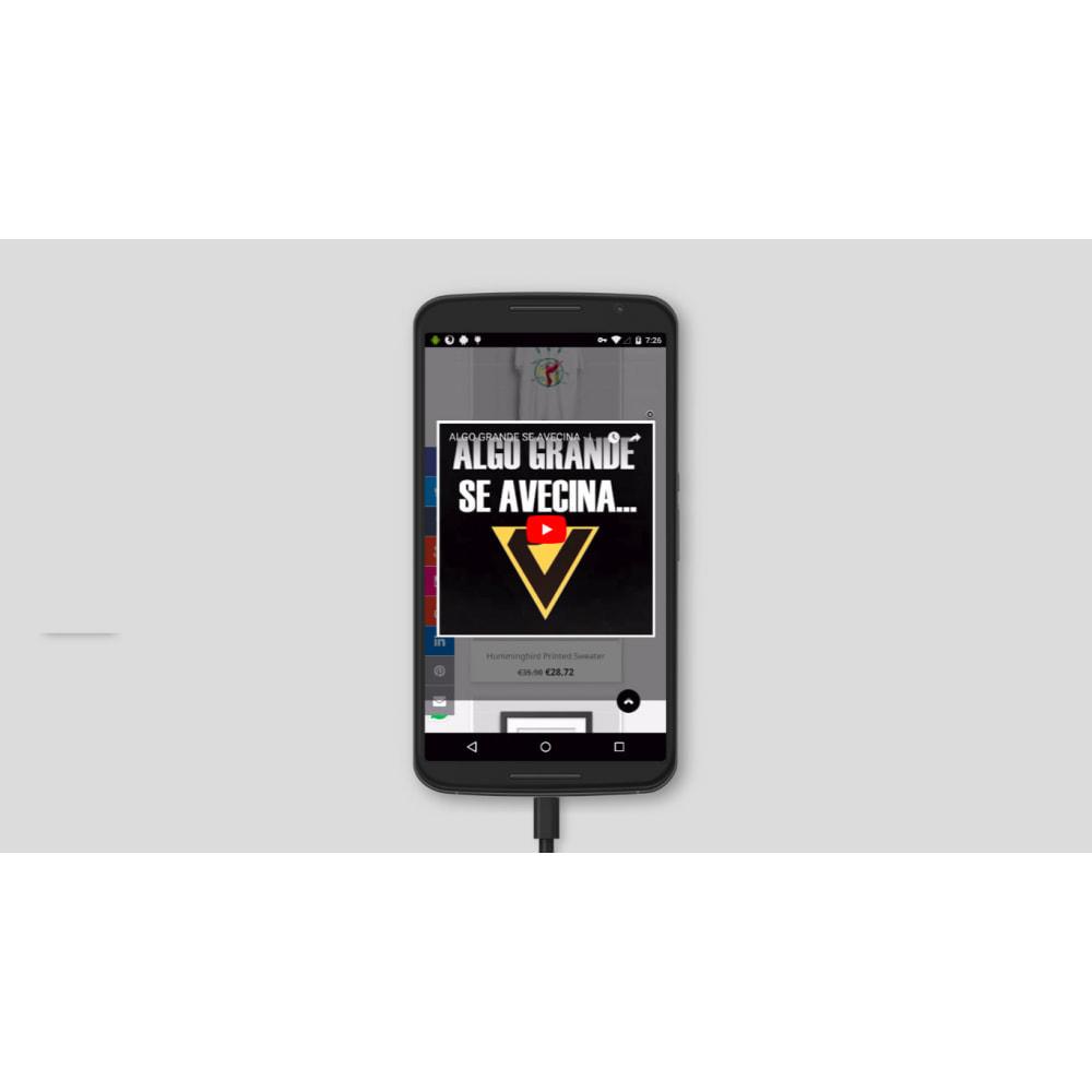 module - Vídeos & Música - Vídeo pop-up do YouTube - 2