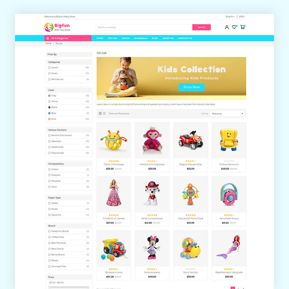 theme - Enfants & Jouets - Bigfun Kids Toy Store - 6