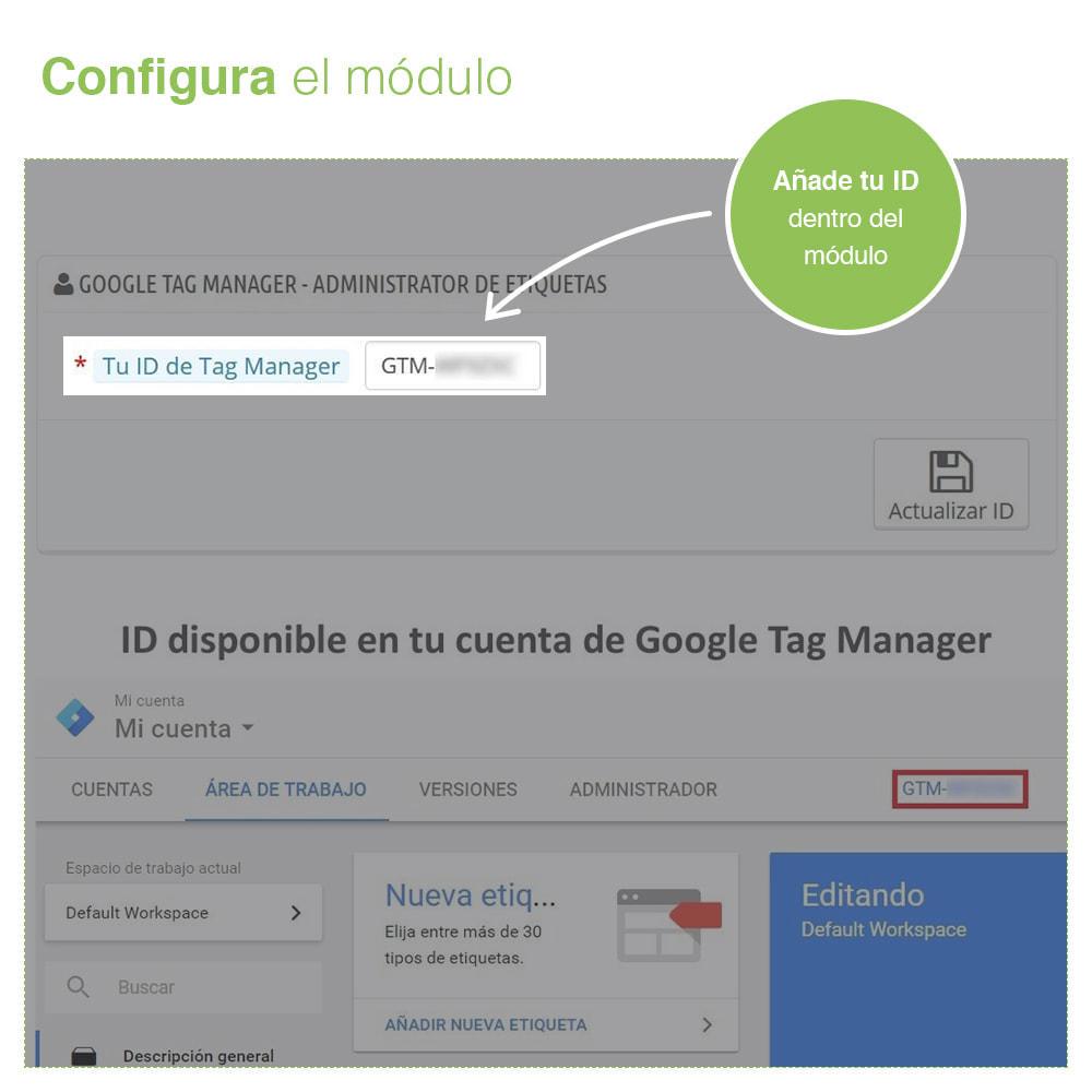 module - Informes y Estadísticas - Google Tag Manager - PRO - 2