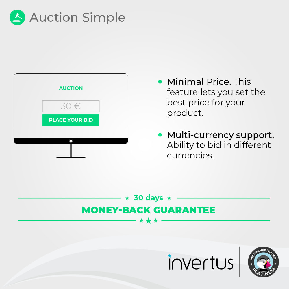 module - Auction Site - Auction Simple - 2