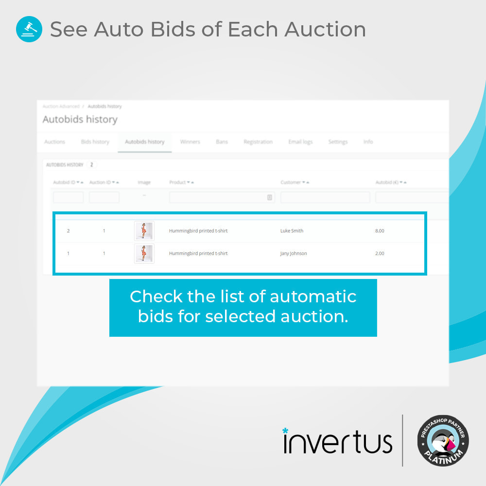 module - Web de Subastas - Auction Advanced - 9