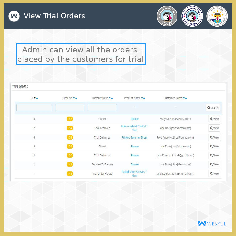 module - Déclinaisons & Personnalisation de produits - Product Trial | Try Before Purchase - 10