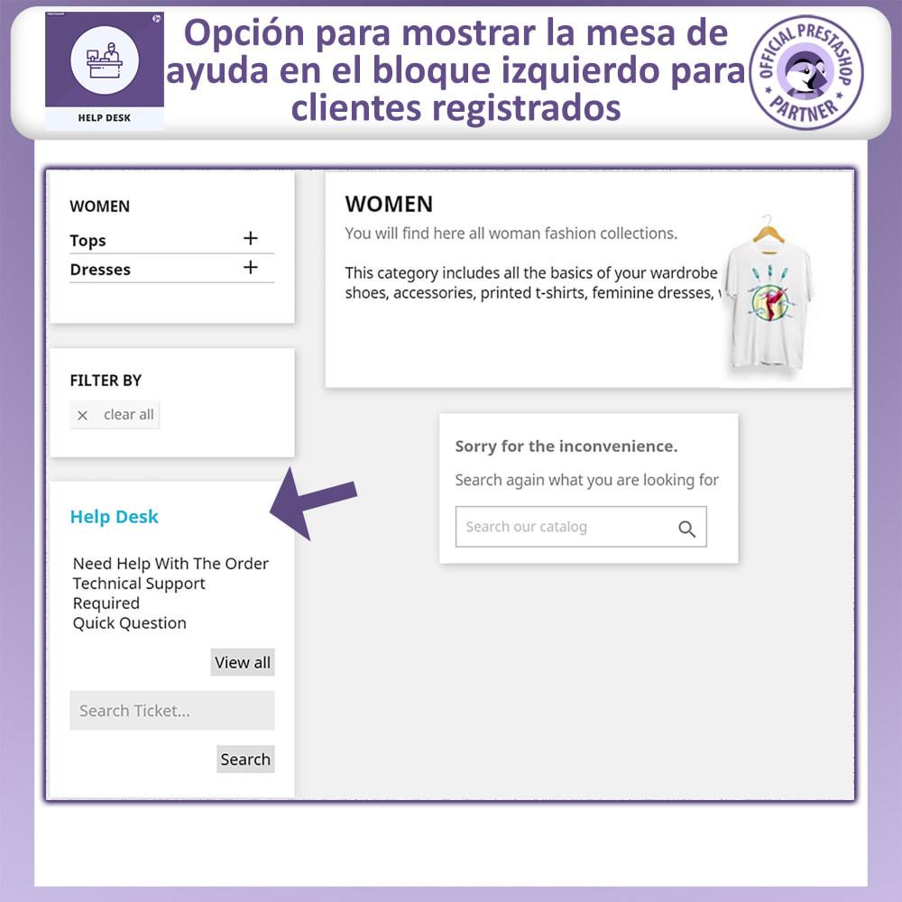 module - Servicio posventa - Mesa de ayuda - Sistema de gestión de soporte al client - 2