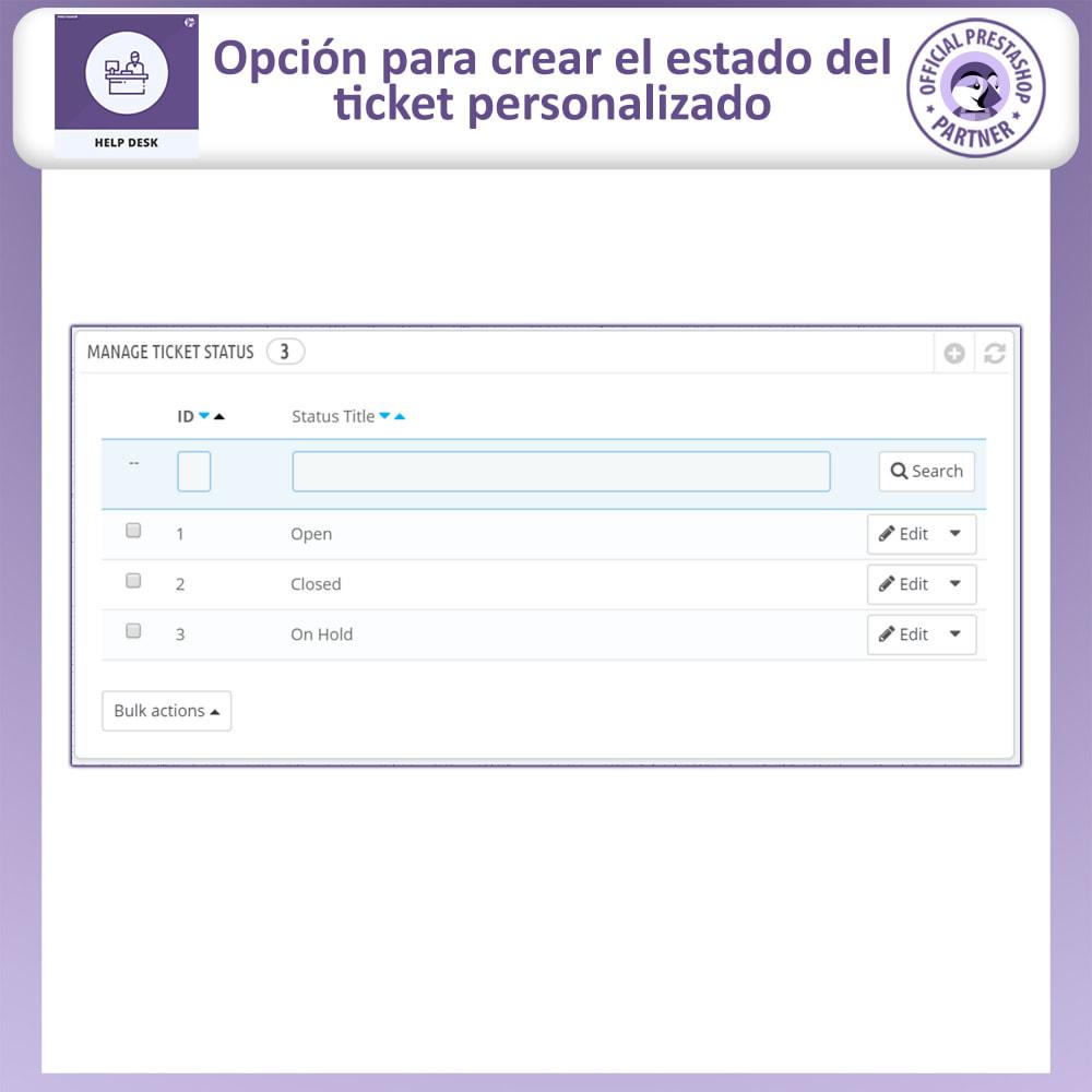 module - Servicio posventa - Mesa de ayuda - Sistema de gestión de soporte al client - 14