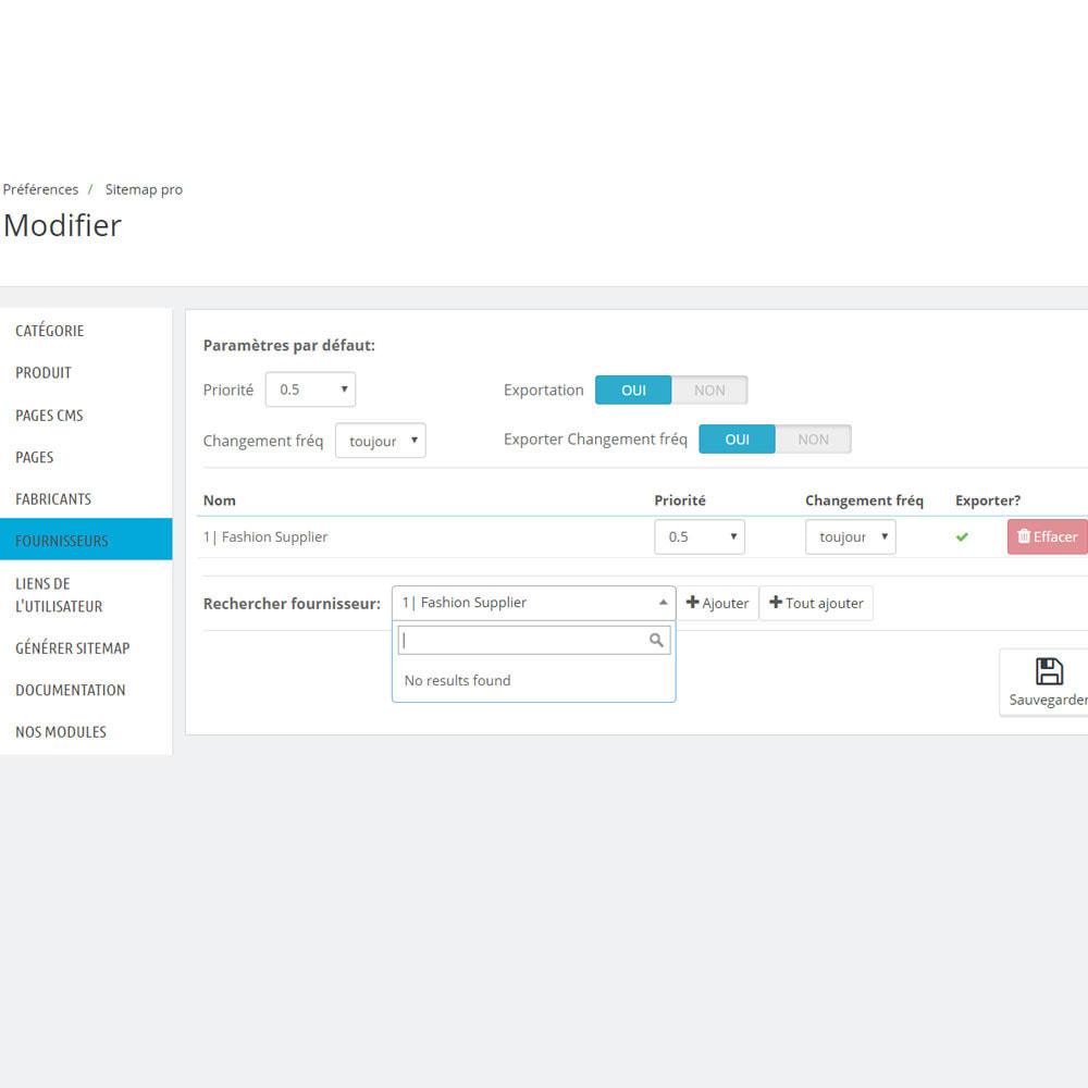 module - SEO (référencement naturel) - Sitemap xml pro - 8