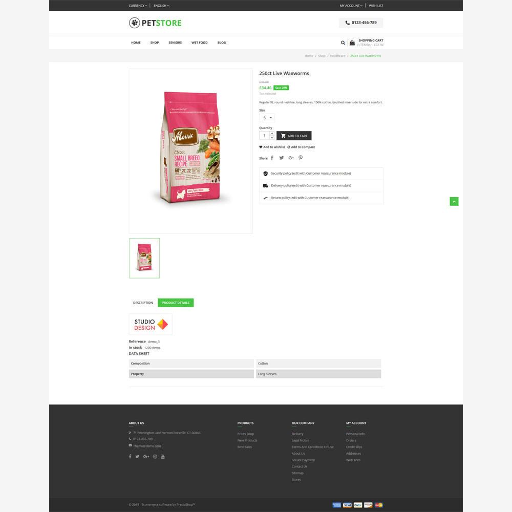 theme - Animali - PetStore - Responsive Store - 4