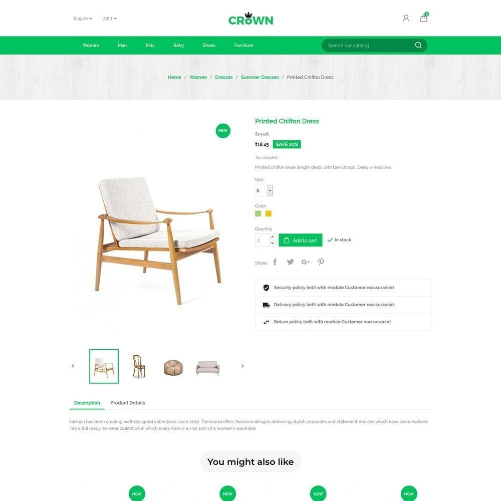 theme - Home & Garden - Interior Furniture - Decor Wood  Home Design Store - 5