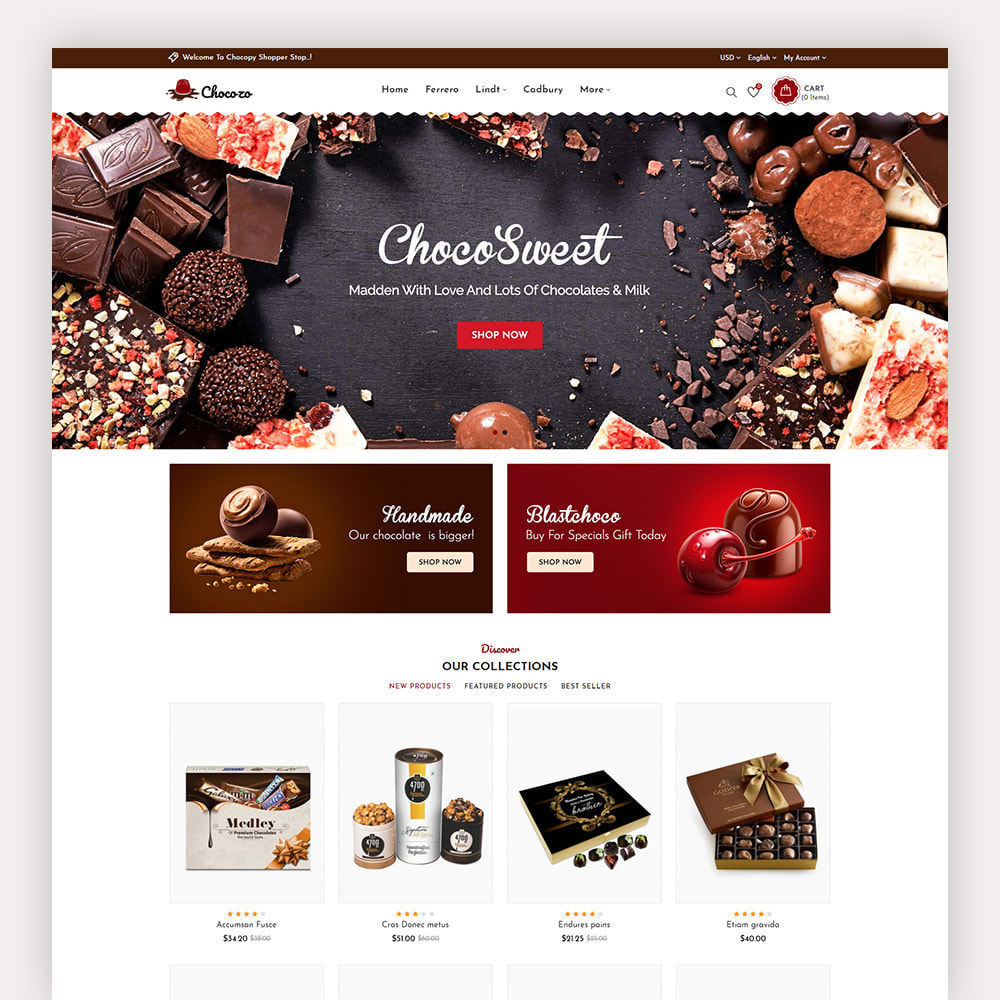 theme - Gifts, Flowers & Celebrations - Chocozo Chocolates Store - 2