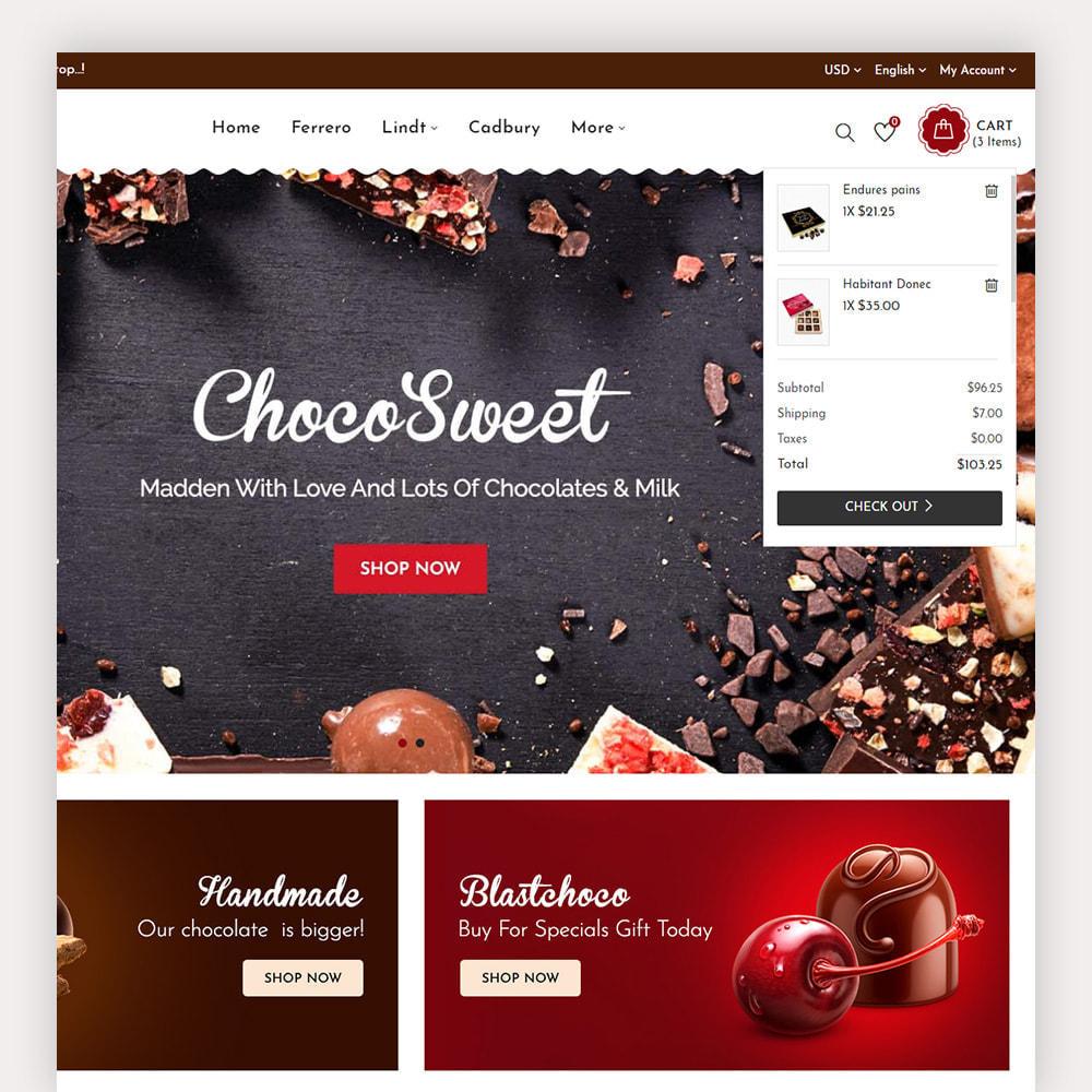 theme - Cadeaux, Fleurs et Fêtes - Chocozo Chocolates Store - 5